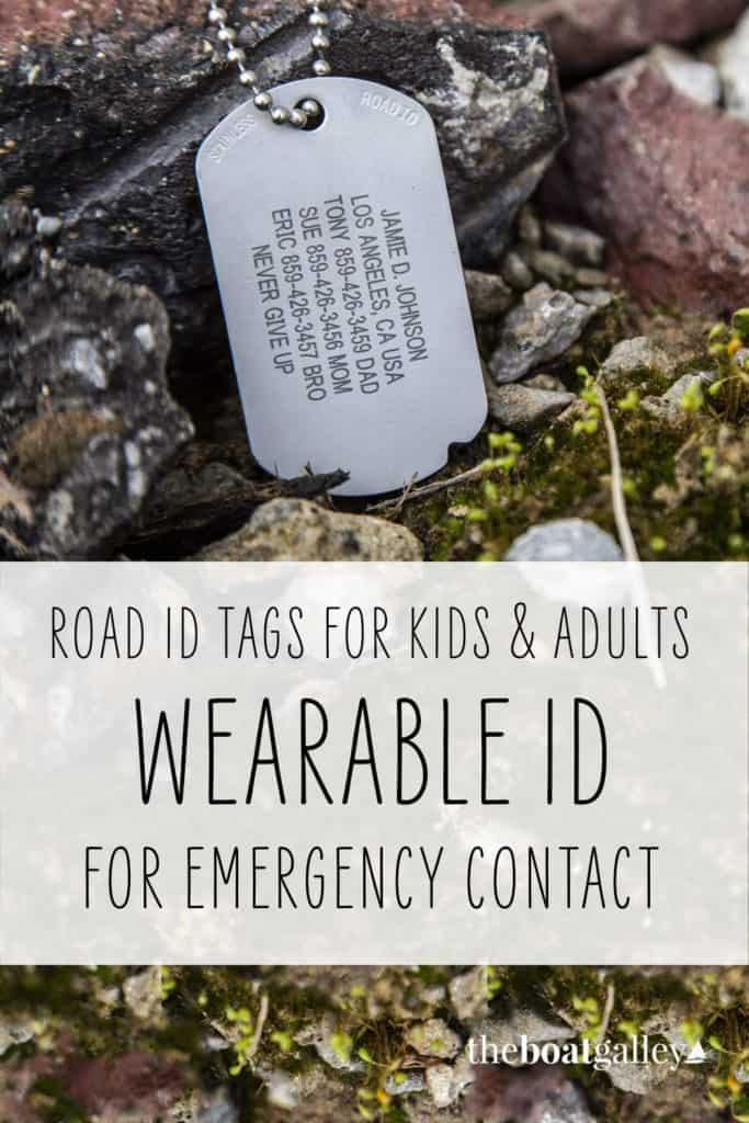 If you were sick or injured while ashore, would you have ID?  And would that ID provide a way for first responders to contact someone on your boat? Or know what meds you take? Your medical conditions -- or drug allergies?  Road ID provides all this and more!