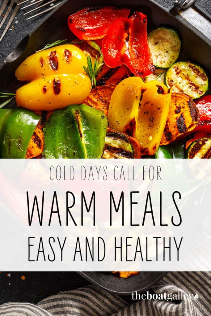 Favorite Cold Weather Recipes Pinterest Image