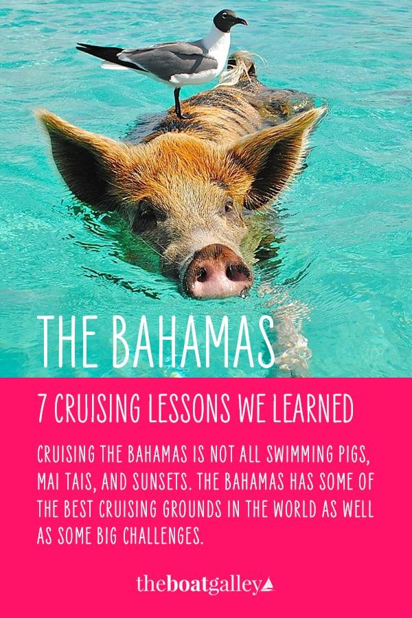 Pinterest image for Cruising the Bahamas
