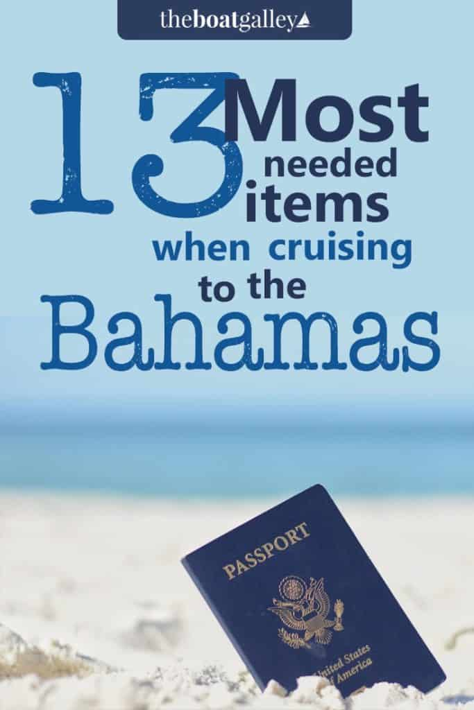 A checklist of the documents and other things you need to have before taking your boat to the Bahamas. Downloadable PDF if you want.