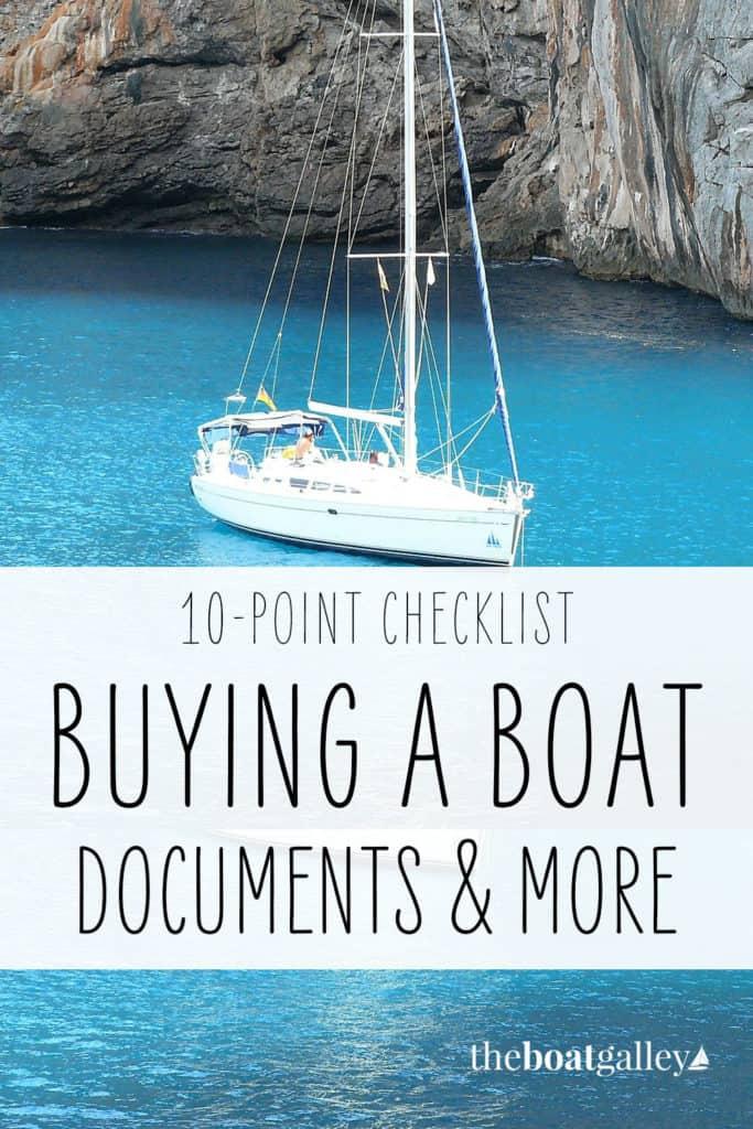 Boat documents Pinterest Image