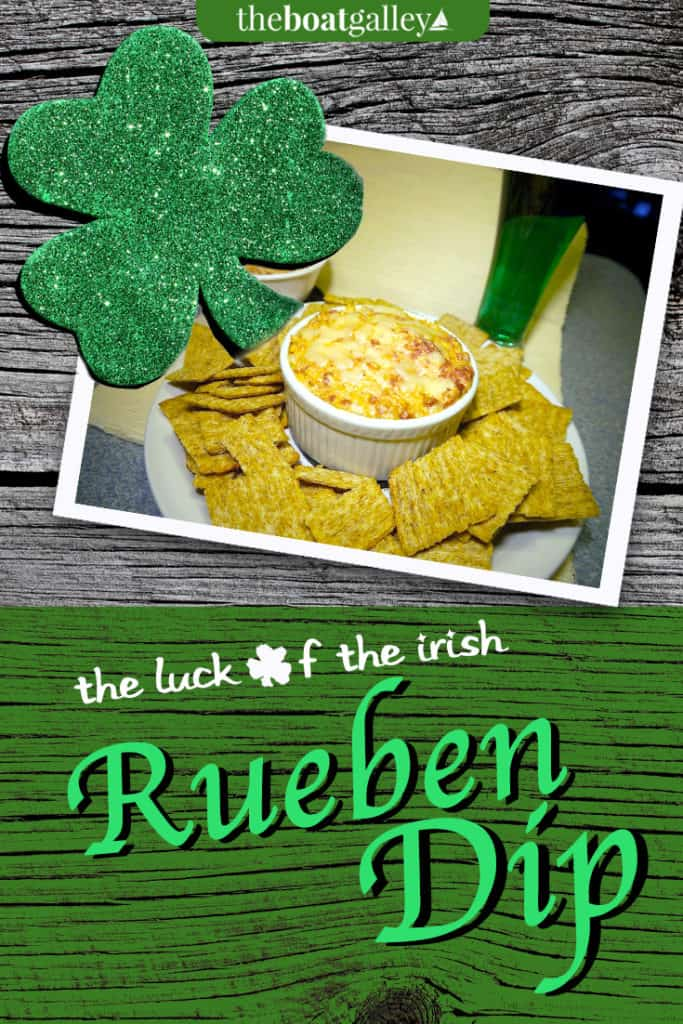 A tasty hot dip terrific for St. Patrick's Day or any cool day on the water. You can even make a dairy free version that's still delicious.