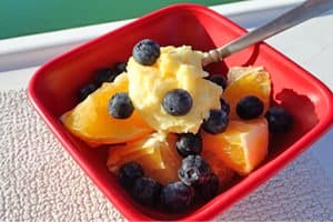 A tasty fruit topping you can serve many different ways. Plus a way to make it even if you don't have a refrigerator on your boat.