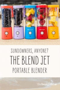 Is it worth having a blender on a boat? According to one reader, this small one might be.