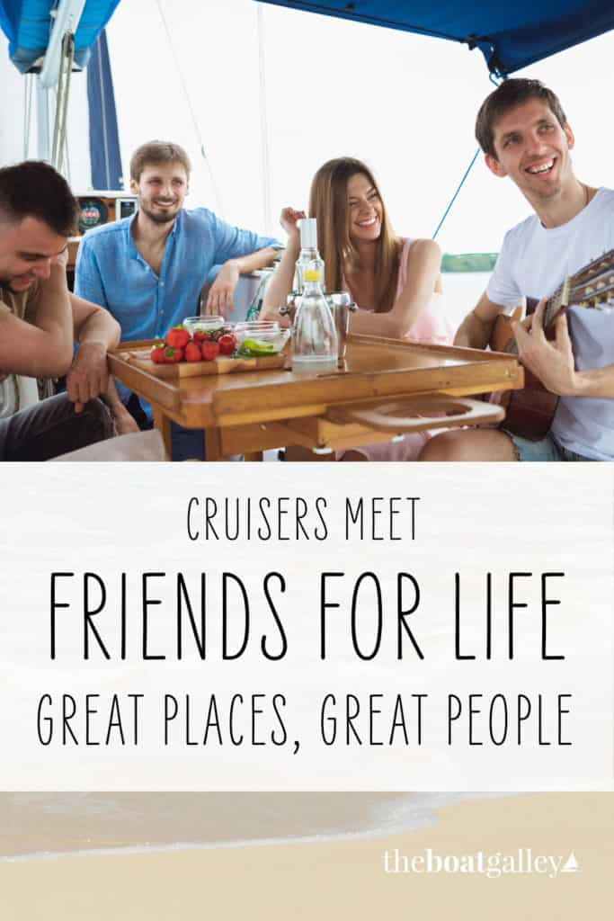 What's the best thing about cruising? The people you meet. Check out some of the interesting folks you'll meet in just one mooring field.