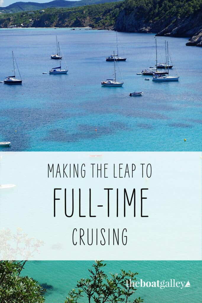 What's the scariest thing about cruising? Just learning to take that big leap. Here's some encouragement.