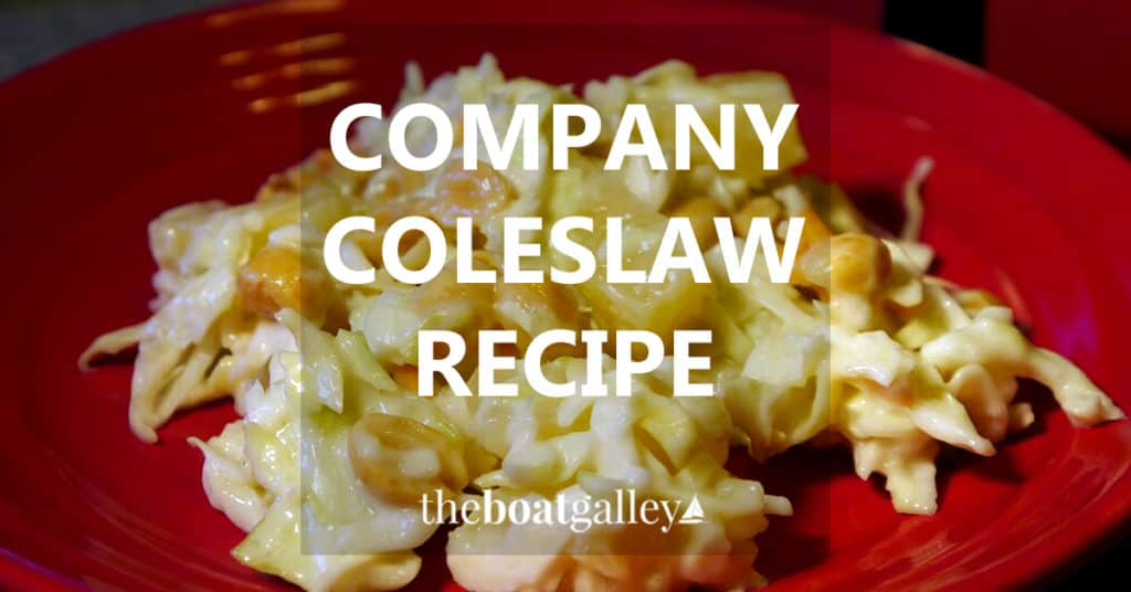 Not your everyday coleslaw, but still easy to make with readily-available ingredients. Delicious!