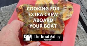 How do you split the galley duties, who pays for meals on shore, just some of the questions you have to consider when you invite extra crew on board