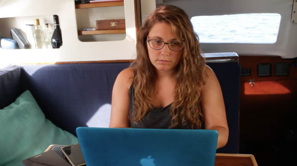 Thinking about starting a YouTube channel to fund your cruising? Seems simple enough, right? Elena of Kittiwake tells what it's really like.