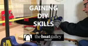 How installing 3 pieces of flooring in a closet helped me gain confidence to do boat work.