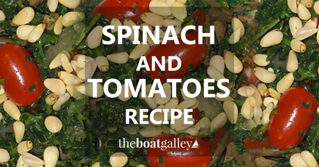 Who knew canned spinach could actually taste good? It does, with this recipe!