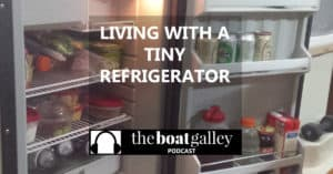 Small refrigerator and less frequent stops for groceries when cruising. How can you have the foods -- especially fresh food -- you want?