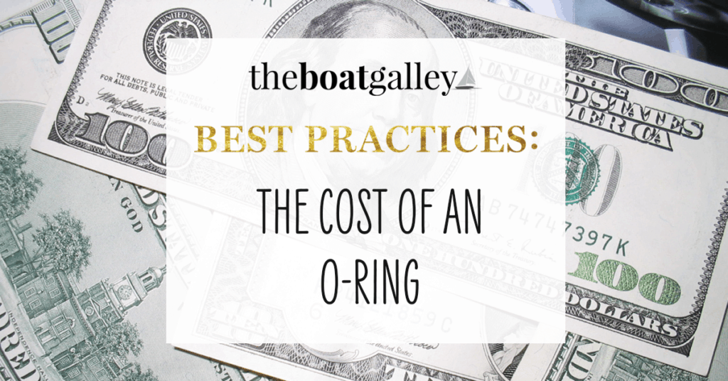 The Cost of an O-Ringer header