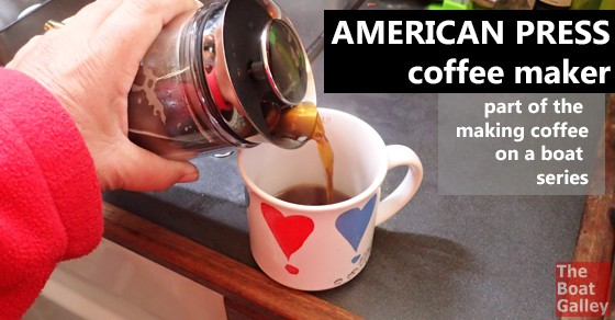 The American Press Coffee Maker -- no electricity need, no glass to break, no filters to throw away -- just delicious coffee!