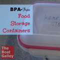 BPA Free Food Storage