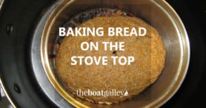 How to bake yeast breads on the stove top in a Dutch oven