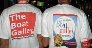 Want some custom boat shirts - or hats, mugs or cards - but don't like the minimum order size and prices you've found? Here's how I just had TBG shirts made.