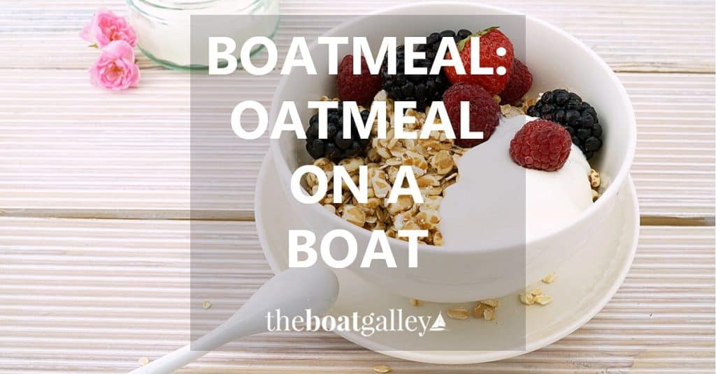 Cook oatmeal with far less fuel--perfect on a boat, backpacking, camping, RV or in a hot climate!