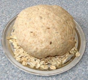 Picture of bread ready to bake