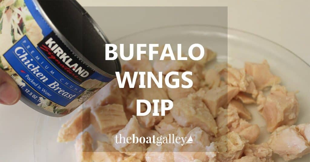 If you like hot wings, this dip captures the flavor in an easy-to-make dip!