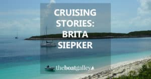 """""""We were totally unprepared to deal with the stress presented by cruising; we didn't stock epoxy to fill broken hearts or spare battens to reinforce weakening bonds."""""""