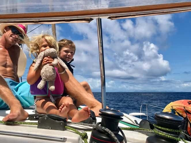 """Making the transition to cruising the Caribbean isn't always as """"sailing off into the sunset"""" implies. How one mom has adjusted!"""