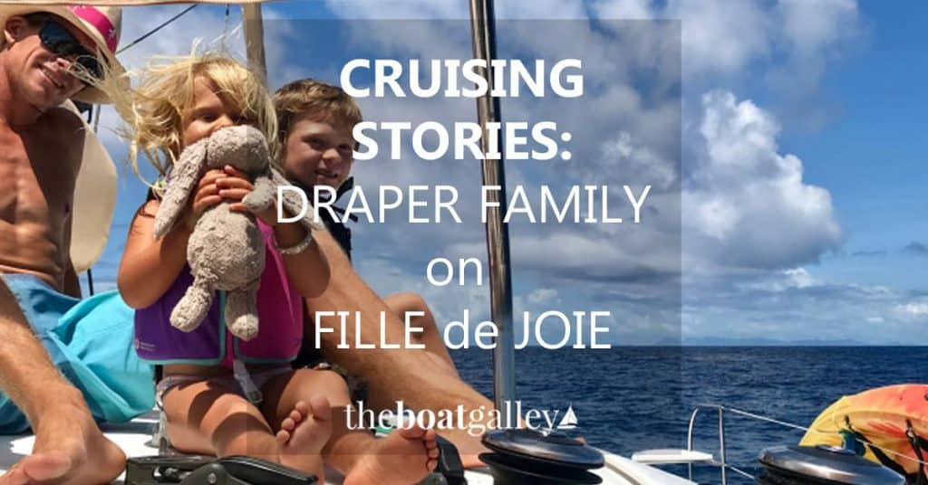 """Making the transition to cruising the Caribbean isn't always as simple as """"sailing off into the sunset"""" implies. How one mom has adjusted!"""