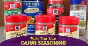Make your own Cajun seasoning blend with far less sodium than most commercial blends and fantastic taste. Use it not just in Cajun cooking, but on rice, eggs, burgers and more to give lots of flavor!