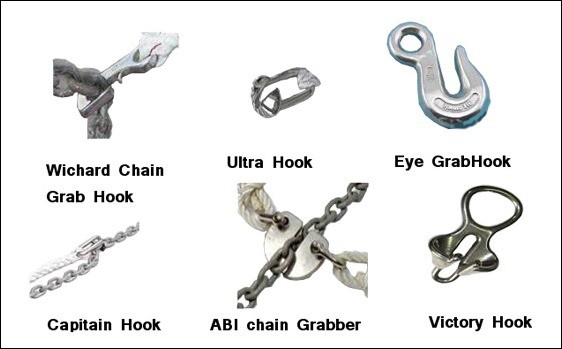 A bridle (or snubbers) is an essential part of the anchoring system. How ours are set up and why we use the Mantus Chain Hook (hint: it stays on and these don't!)