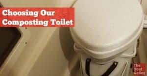 Why did we (A) choose a composting toilet and (B) choose the Nature's Head over others?