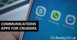 Four great apps for cruisers wanting to have real-time communications with friends and family around the world.