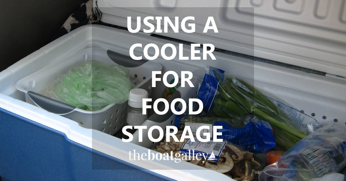 How To Use An Ice Box Cooler For Food Storage The Boat