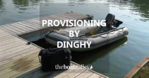 If you're taking groceries back to the boat by dinghy, you need to protect certain things (say, sugar) from getting wet. Here's how to do it!