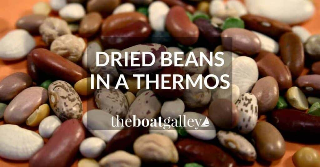 Cooking dried beans in a thermos is an easy way to prepare them to use in another recipe - do something else while they cook. Less sodium and easier to store than canned beans.