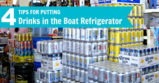Galley tips for cold drinks on a cruising boat -- making the most of limited refrigerator space and power.