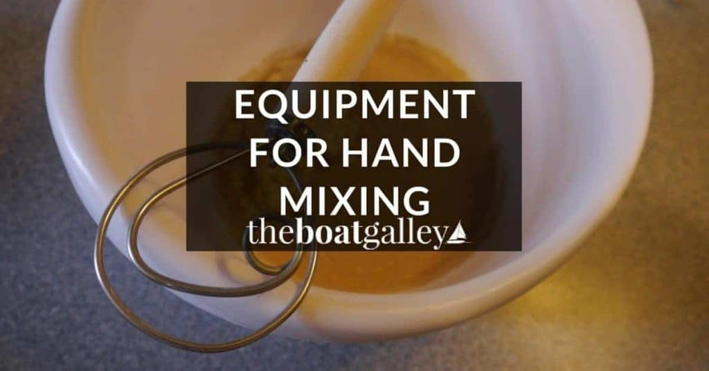 When you're mixing everything by hand -- no electric beater, blender, or food processor -- having the right tools can make all the difference.
