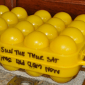 Egg carton labeling