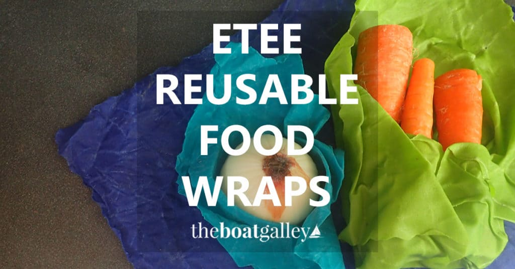 Looking for an alternative to carrying -- and throwing away -- boxes of plastic bags, cling wrap and aluminum foil? Etee Wraps are a solid alternative with the bonus of keeping some foods fresh longer!