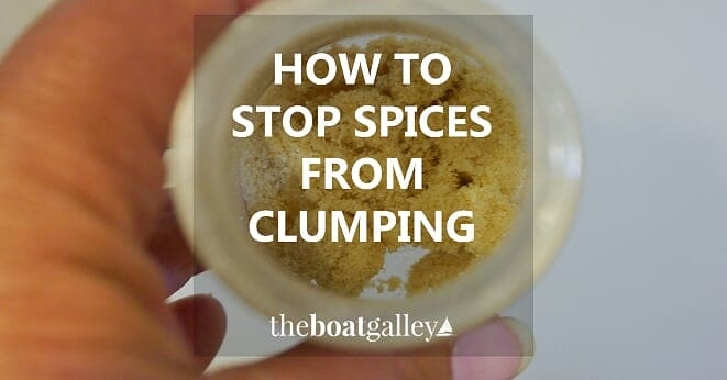 Two tips to keep spices flowing freely -- don't throw spices away because they've turned rock hard!