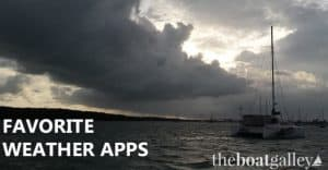 Our three favorite weather forecasting apps (each deals with a different aspect) as well as the email forecast service we love for Florida and the Bahamas.