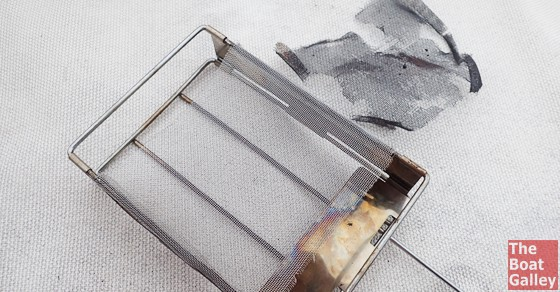 How to buy a replacement stainless screen for a GSI camping toaster.