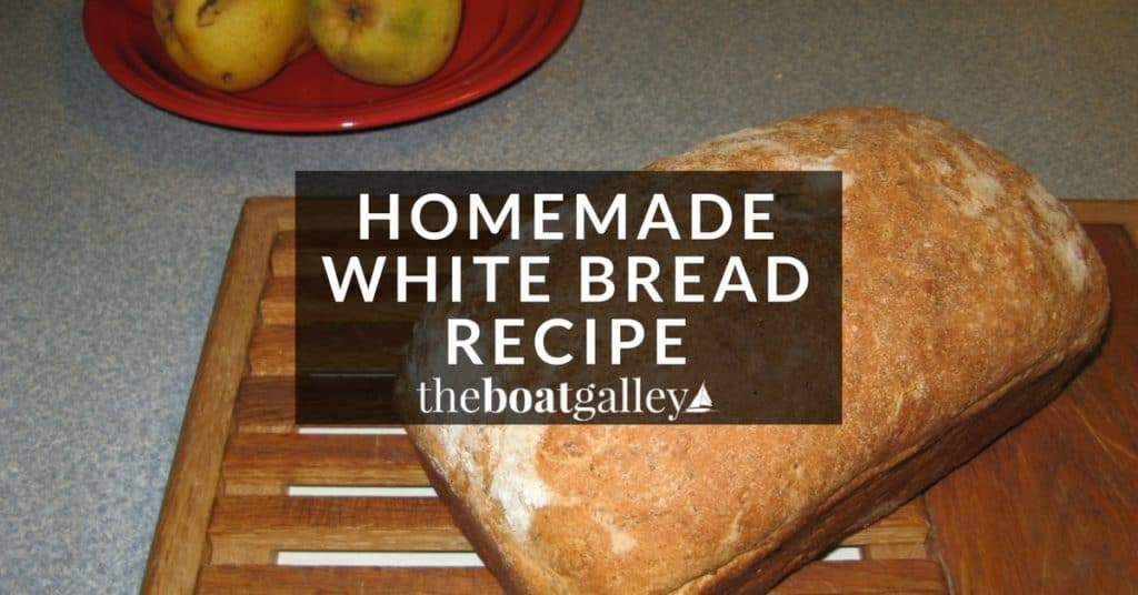 Simple recipe for white bread with everything you need to know for great results even if it's your first time baking bread!