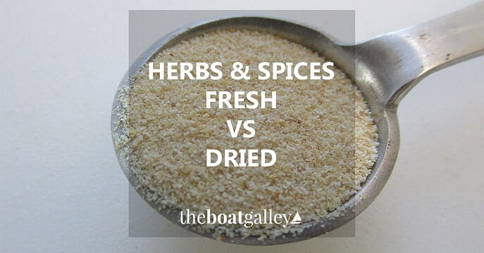 When you need to substitute garlic powder for fresh, how much do you use? Or fresh herbs for dried? Here are the answers!