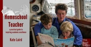 Thinking of cruising with your kids, but stuck and confused when it comes to the idea of homeschooling? Kate Laird's new book provides practical info to make it work for you and your kids!