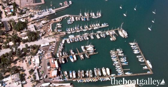 Marina De La Paz before Hurricane Marty