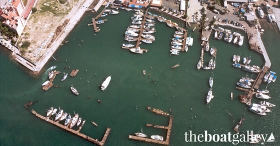 Marina de La Paz after Hurricane Marty