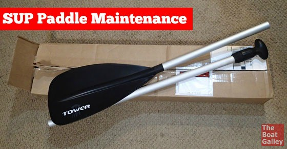 A minute of maintenance after using a multi-piece paddle can save a lot of time and money in the long run!
