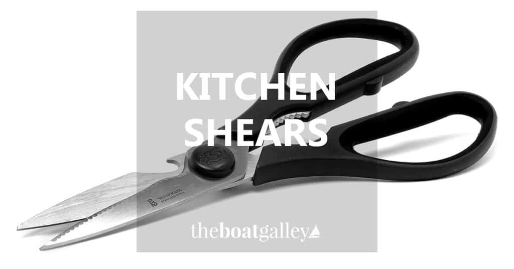 My Wusthof kitchen shears are wonderful for boning meat and doing other tough chores.