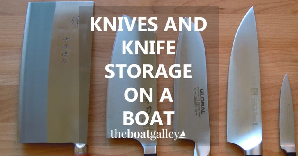 What knives do you really need? And what should you look for when buying them? Here are my recommendations -- and storage for them.