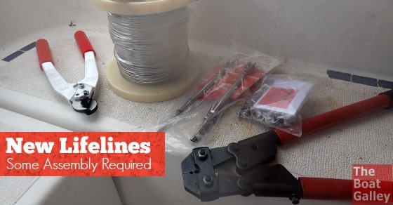 Replacing our lifelines was so much easier than I ever expected. Here's how we did it.